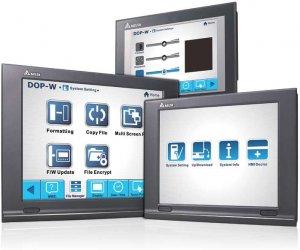 Широкоформатные сенсорные панели оператора DOP-W